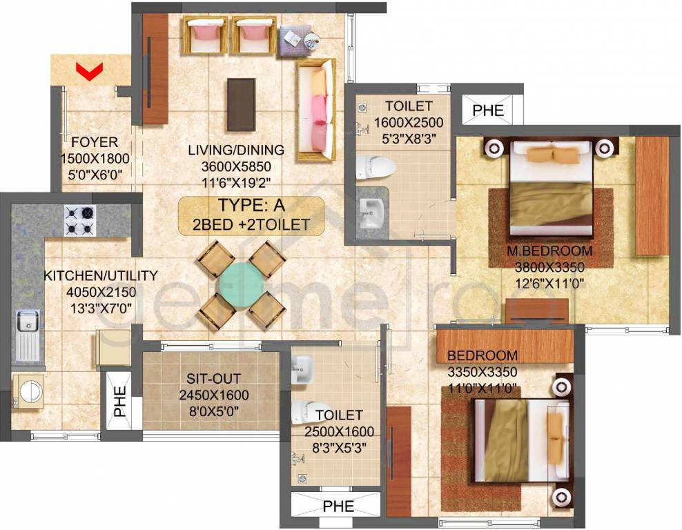 Prestige Boulevard - Floor Plan Photos