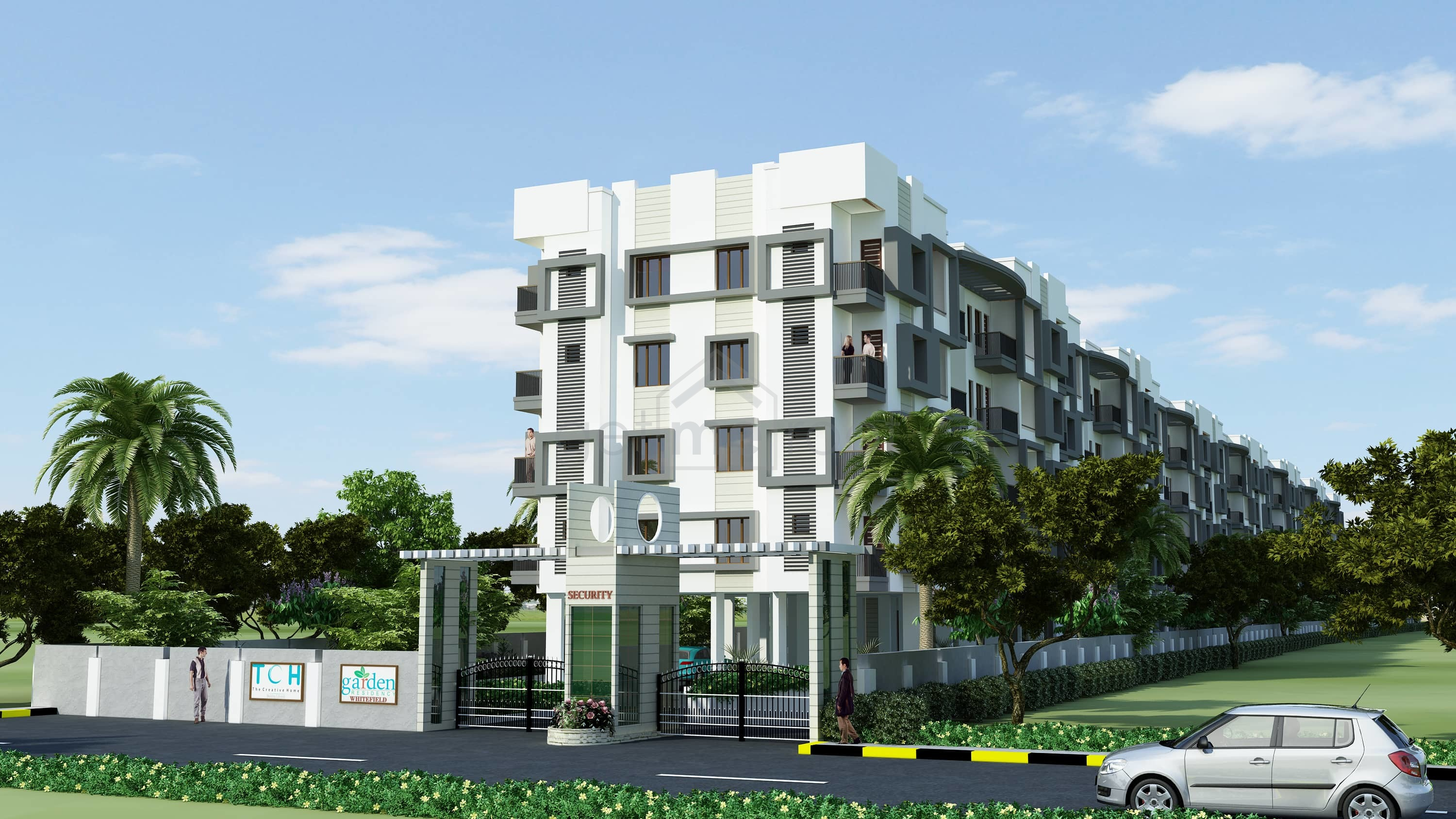 The Creative Homes Builders TCH Garden Residency Seegehalli, Bangalore East