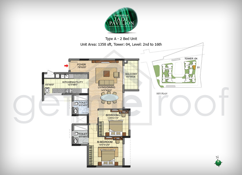 Prestige Jade Pavilion - Floor Plan Photos