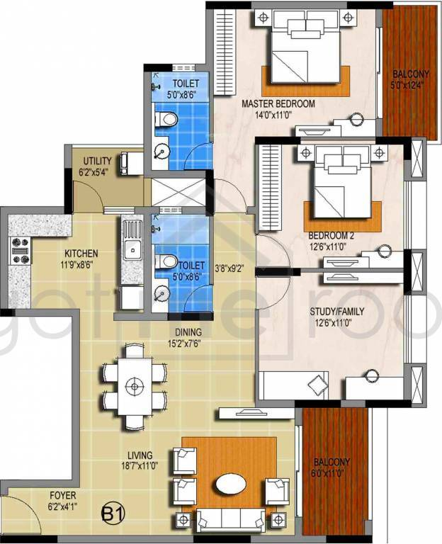 Sterling Ascentia - Floor Plan Photos