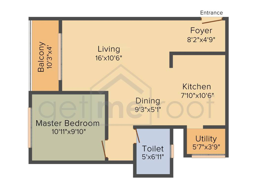 Orchid Whitefield - Floor Plan Photos