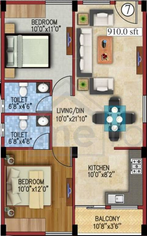 JS Carnation - Floor Plan Photos