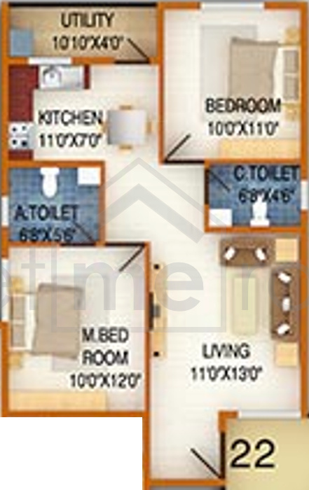Floor Plan Photos - DS Max Silver Wood