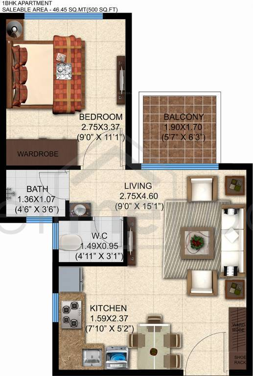 Pashmina Brookwoods - Floor Plan Photos