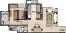 Floor Plan Photos - Lodha Amara