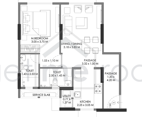 Godrej Prime - Floor Plan Photos