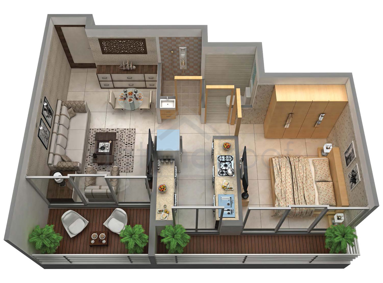 Apex Landmark - Floor Plan Photos