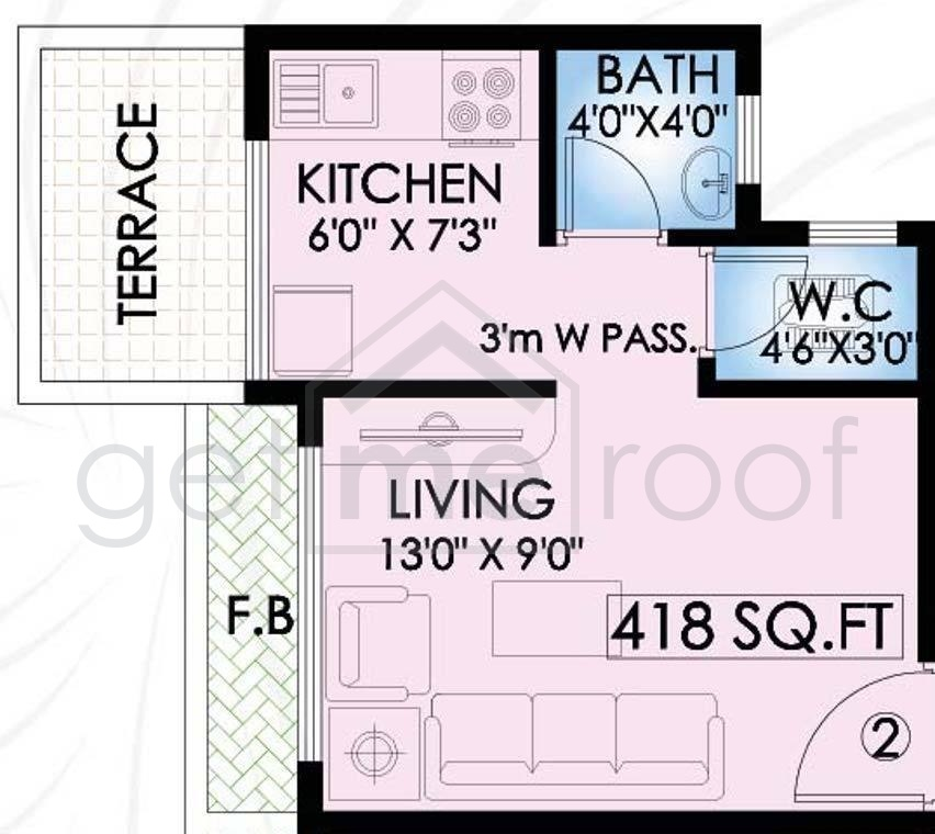 Galaxy Riverside Residency - Floor Plan Photos